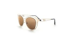 MLC Eyewear Futuristic Fashion Halo Flat Frame Aviator Sunglasses