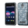 Insten Tuff Hard Dual Layer Hybrid Case For Zte Obsidian Blue/gray