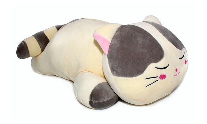Very Soft Cat Big Hugging Pillow Plush Kitten Kitty Stuffed Animals