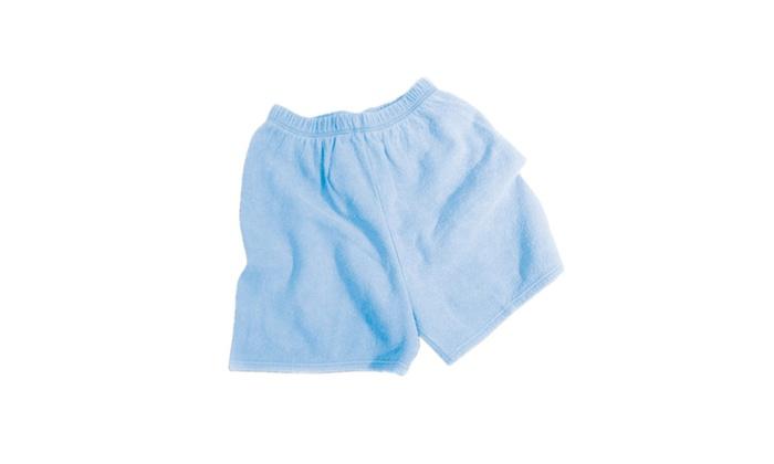 Chammyz Cut-off Shorts - Ocean Blue