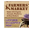 Farmers' Market Natural Bar Soap Lavender Eucalyptus - 5.5 OZ