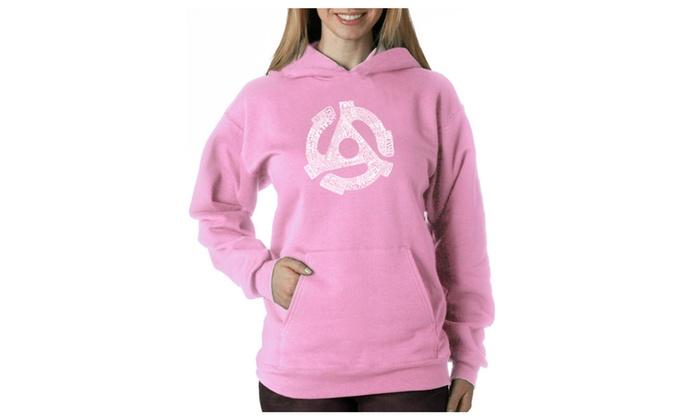 Women's Hooded Sweatshirt -Record Adapter