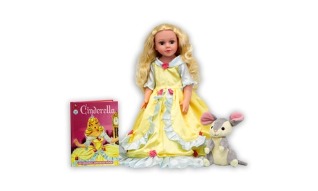 Deluxe Once Upon a time Storybook doll Cinderella 0b6cbabf-ab90-489d-846f-39fe50b880e1