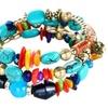 Rhinestone Multilayer Chain Simulated Gem Crystal Bracelet for Women