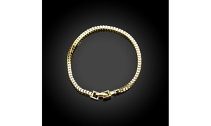 Solid Italian Venetian Box Chain Set in 14K Gold - Three Sizes Available