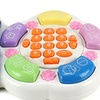 Fun Learn & Play Toy Telephone Game Set w/ Flashing Lights(Colors May Vary)