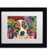 Dean Russo 'Whazzat' Matted Black Framed Art
