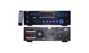 Pyle Home Pd1000a 1,000-watt Am/fm Receiver With Built-in Dvd Player