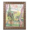 Van Gogh 'The Garden of St. Pauls Hospital' Ornate Framed Art