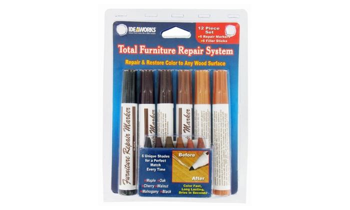 Total Furniture Repair System Set Of 12 Groupon