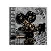Roderick Stevens Movie Camera Canvas Print