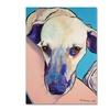 Pat Saunders-White Headrest Canvas Print