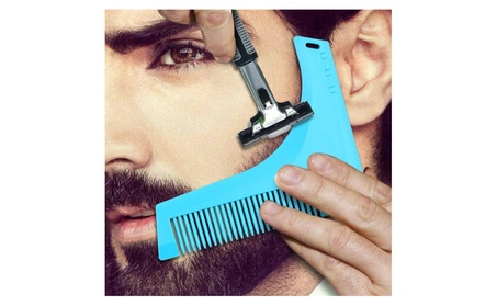 Beard Shaping Tool with Comb e53120c3-d111-4381-bedc-1e46b514e966