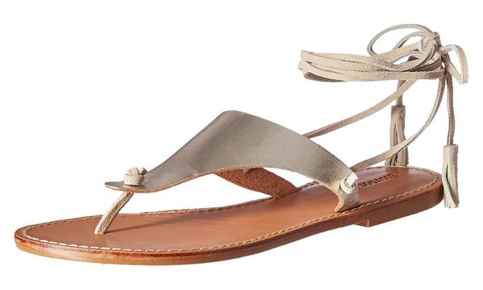 Soludos Women's Thong Gladiator Flat Sandal