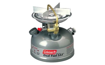 Coleman 1 Burner Dual Fuel Sportster Stove Grey 3000000792