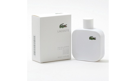 Lacoste Eau de Lacoste L.12.12 Blanc Eau de Toilette for Men (3.3 Fl. Oz.)