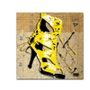 Roderick Stevens Yellow Strap Boot Canvas Print