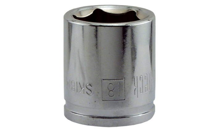 Sckt 18mm 3-8dr 6pt