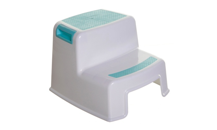 2 Step Stool Aqua Groupon