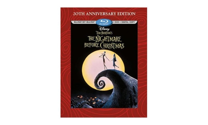 the nightmare before christmas 3d 20th anniversary edition blu ray - Nightmare Before Christmas 3d
