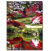 David Lloyd Glover Rhododendron Reflections Canvas Print