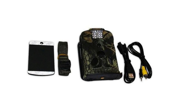 Waterproof Hunting Outdoor Surveillance Camera + Motion Sensor