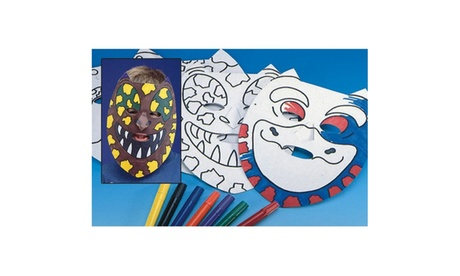 Dino Masks Craft Kit (makes 24) 45535737-f8b8-4aa2-ace0-2f40730fa486