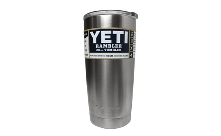 YETI Rambler 20 oz Stainless Steel Vacuum Insulated Tumbler with Lid 26aad8b6-df08-424e-99c7-7c21400d51af