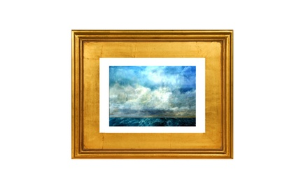 To the ends of the earth -Framed fine art