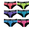 "Women Neon Color ""Sweet"" Band Matching Sports Bikini Panties"