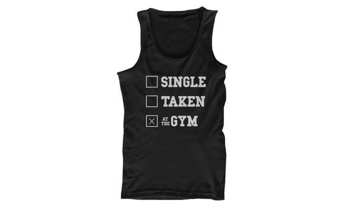 97e6461eaeb764 Men s Work Out Tank Top - At the Gym - Funny Workout Tanks