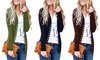 2019 Women's Solid Button Front Knitwears Long Sleeve Casual Cardigans
