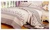 Love in bloom gbkq: Cotton Beige Pastoral Printing 3 Pieces Bedding Set-Queen Size