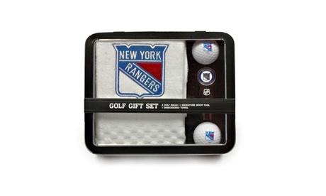 Team Golf New York Rangers Golf Gift Set 47cee431-ec53-4f65-ac0a-761a3114168c
