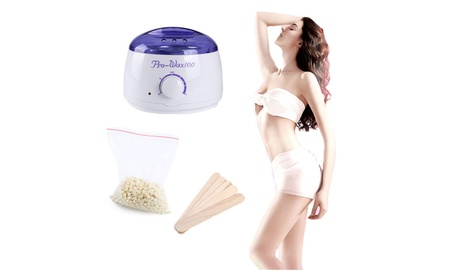 Waxing Kit Hair Removal Hot Wax Warmer Machine Pot 100g Wax Bean Kit 972e955d-ebda-4b35-9e4e-a83c26d11502
