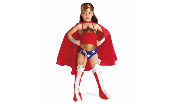 Rubies Costume Co 11269 Justice League Wonder Woman Child Costume  sc 1 st  Groupon & Rubies Costume Co 11269 Justice League Wonder Woman Child Costume ...