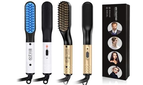 Beard Straightener Hair Straightener Multifunctional Straightening Brush Unisex