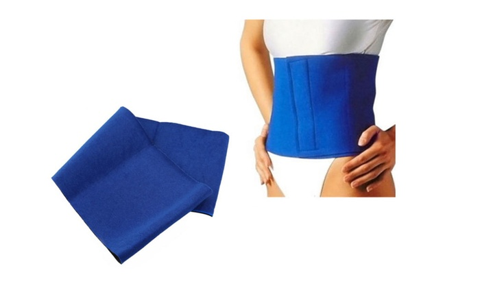 Simple and Effective Exercise Wrap Belt Slimming Fat Sweat Weight Loss