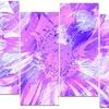 Purple Flower - Floral Canvas Art