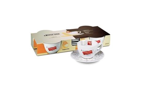 Coffee Bar Amore Mio No. 8a Set of 4 Coffee Cups & Saucers c1e587c9-98dc-45b9-aef9-37b7db1e0899