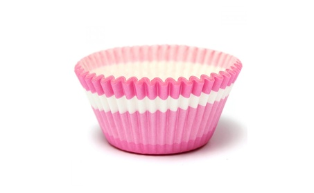 100Pcs Pink Cupcake Muffin Baking Paper Dessert Cup Wedding Party 7039ac3a-1203-4355-936f-1a12177cd4e9