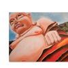 Judy Harris Laughing Buddha Canvas Print