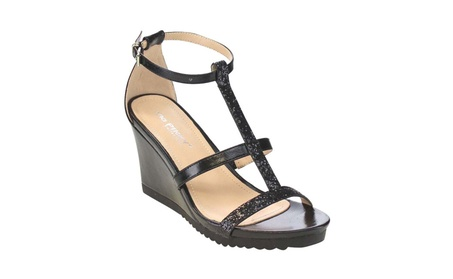 Beston AISLINN-02 Women's Lug Sole Wedges Dress Sandals e3c1005b-1bac-43ef-8591-ce3259323b2b