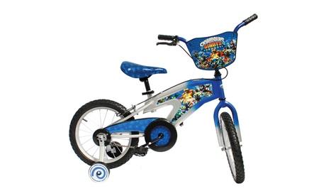 "Street Flyers Skylanders Kid's Bike, 16"" wheels, 11"" frame, Blue 5949aebf-1aec-4afd-8720-3b6fa72b634c"