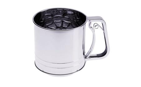Progressive Housewares 5 Cup Triple Screen Flour Sifter GFS-5 67aa25db-3dc4-4dfb-90d2-1b88e3cc5ff1