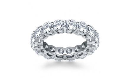 5.00 ct Ladies Round Cut Diamond Eternity Wedding Band