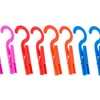12 pack Small and Light Design Drip Dry Plastic Hanger Clothespin