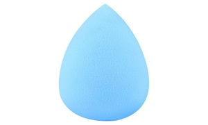 Zodaca Blue Beauty Lady Makeup Sponge Blender Flawless Water Design