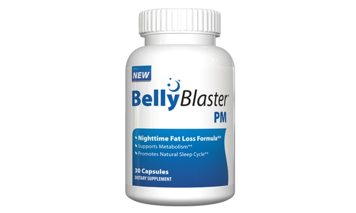 Buy It Now : Weight Loss Kits-BellyBlaster PM-Night Time Pill w Free Waist Trimmer
