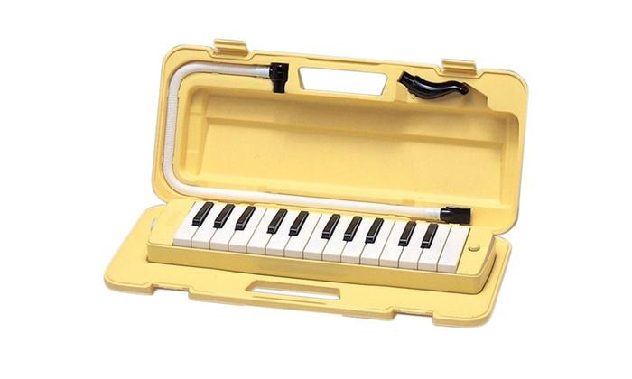Yamaha p25f pianica keyboard wind instrument 25 note for Yamaha electronic wind instrument